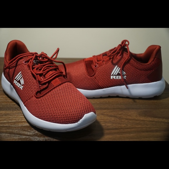 Rbx Red And White Athletic Men Shoes